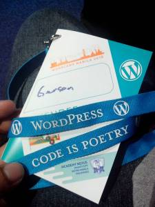 Wordcamp booklet/ID