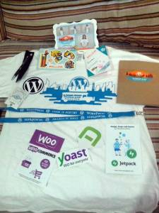 Wordcamp freebies